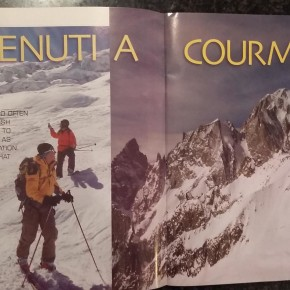 Courmayeur article by Skipedia in 'Tribe' Magazine