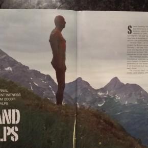 Antony Gormley in Vorarlberg Austria article in 'Tribe' Magazine