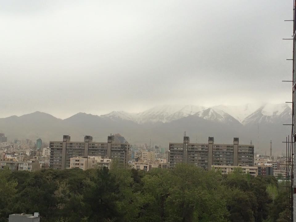 tehran view
