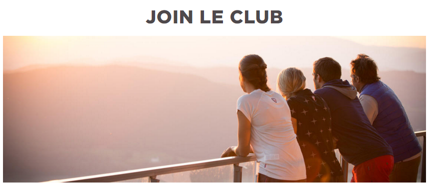 rossignol members club