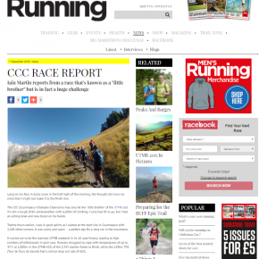 Trail Running article by Skipedia in 'Men's Running' Magazine