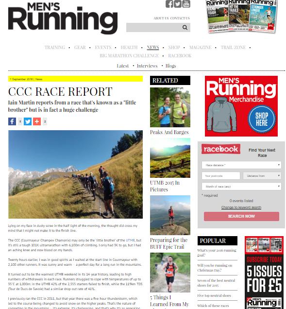 mens running CCC