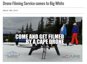 drone big white