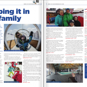 Les Menuires article by Skipedia in 'Skier & Snowboarder' Magazine
