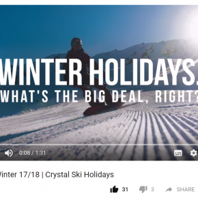 Crystal Ski's great new video aims to bring new skiers to the slopes