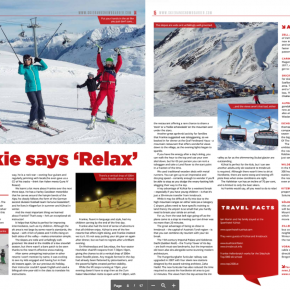 Kuhtai article by Skipedia in 'Skier & Snowboarder' magazine