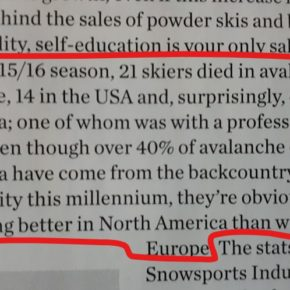 Lies, Damn Lies and Ski Statistics