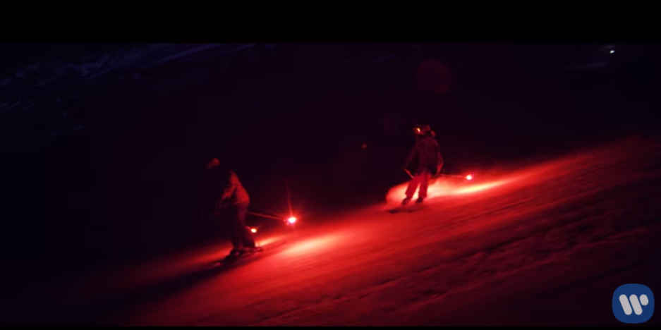 ed sheeran ski video