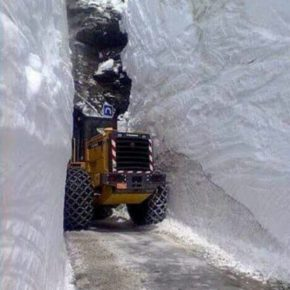 Record snowfall delays opening of Alpine mountain passes