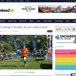 Trail Running article by Skipedia on welove2ski