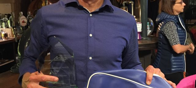 Iain Martin wins award for 'Best Online Article' from France Montagnes