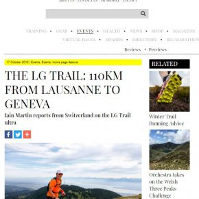 LG Trail Ultra article by Skipedia on Men's Running