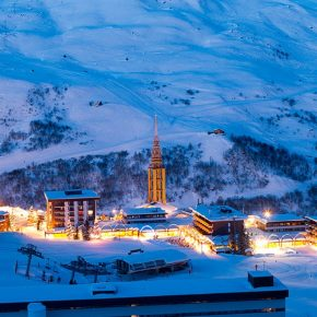 Les Menuires is Best Value Ski Resort in France