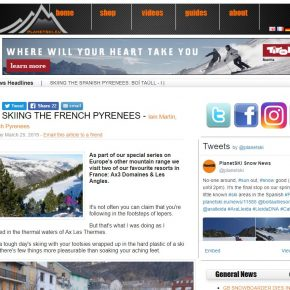 French Pyrénées article by Skipedia on Planetski.eu