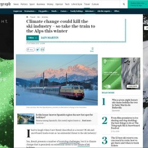 Ski Flight Free article in The Telegraph