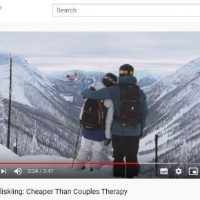 Mica Heliskiing score viral hit with stereotype reversal