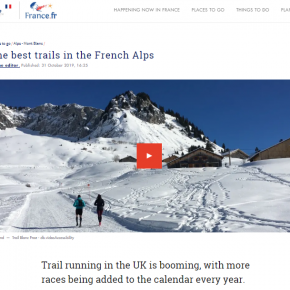 Trail Running article by Skipedia on France.fr