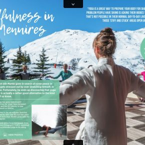 Mindfulness in Les Menuires article in Totally Snow