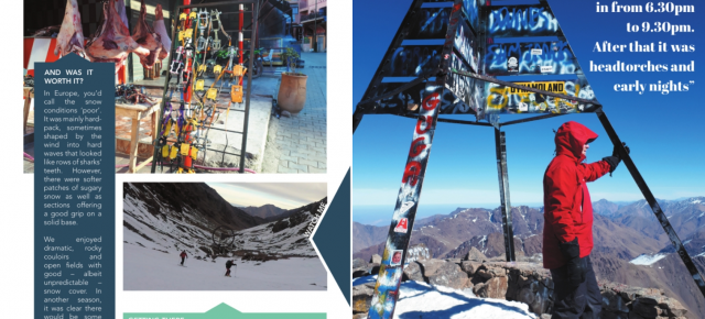Ski Touring in Morocco article in 'Totally Snow'