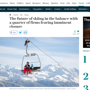 COVID-19 Ski Industry Survey: Press Coverage