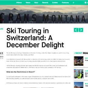 Crans Montana article on InTheSnow.com