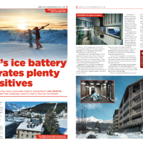 Arosa article in Skier & Snowboarder Magazine