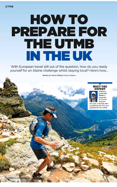 Training for the UMTB in the UK