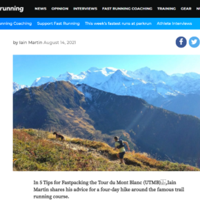 'Fastpacking' article on FastRunning.com